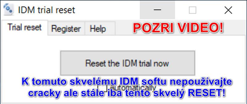 Internet Download Manager TRIAL RESET 100% | SkTorrent eu