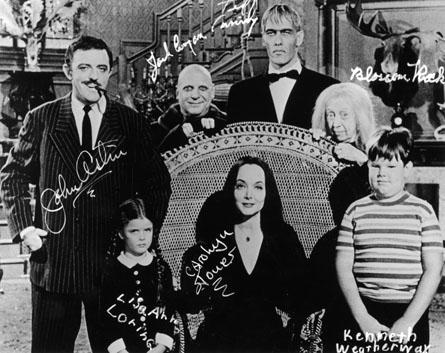 rodina addamsovcov 1964